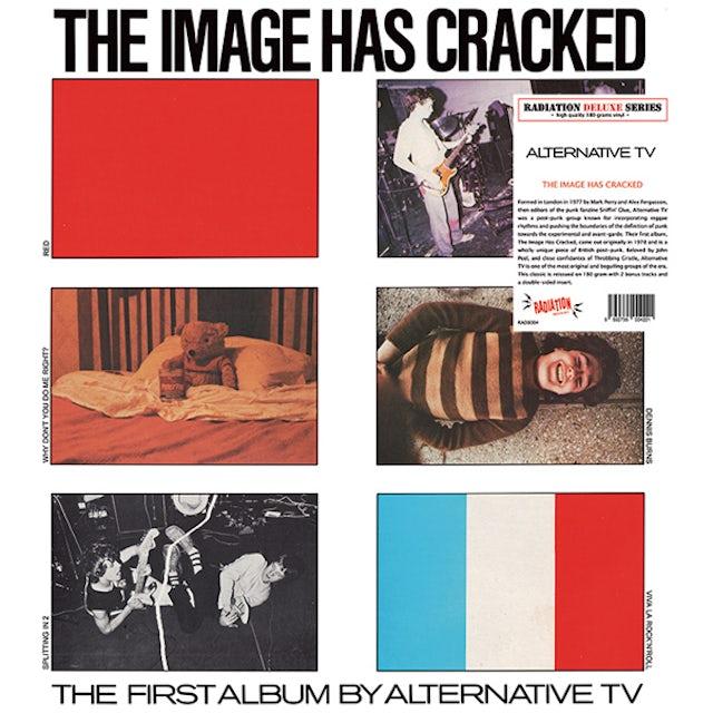 Alternative TV IMAGE HAS CRACKED Vinyl Record