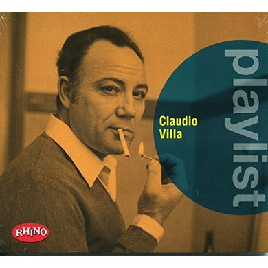 PLAYLIST: CLAUDIO VILLA CD