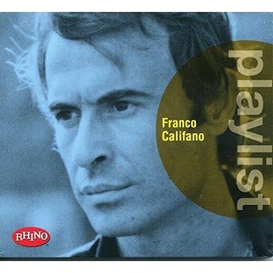 PLAYLIST: FRANCO CALIFANO CD