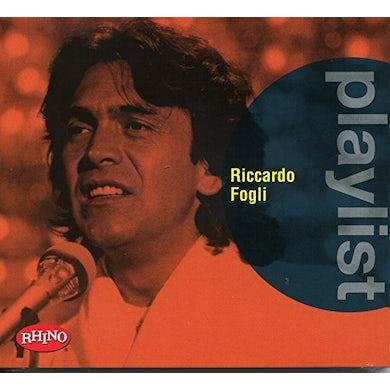 PLAYLIST: RICCARDO FOGLI CD