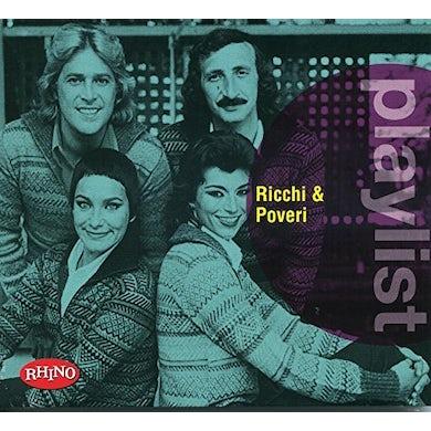 PLAYLIST: RICCHI & POVERI CD