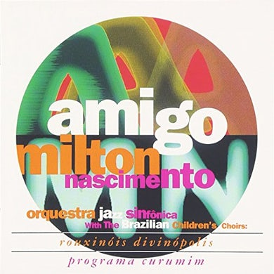 Milton Nascimento AMIGO CD