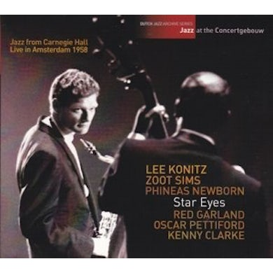 Zoot Sims STAR EYES: JAZZ AT THE CONCERTGEBOUW CD