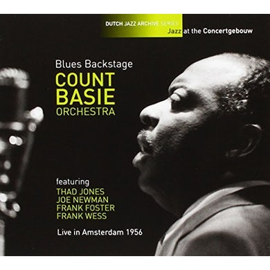 Count Basie BLUES BACKSTAGE: LIVE IN AMSTERDAM 1956 CD