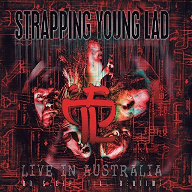 Strapping Young Lad NO SLEEP 'TIL BEDTIME - LIVE IN AUSTRALIA Vinyl Record