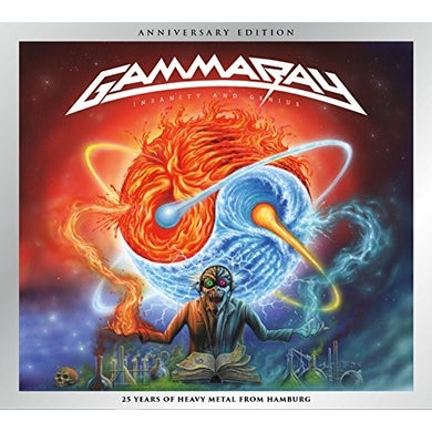 Gamma Ray INSANITY AND GENIUS CD
