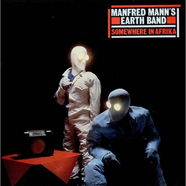 Manfred Mann'S Earth Band SOMEWHERE IN AFRICA Vinyl Record