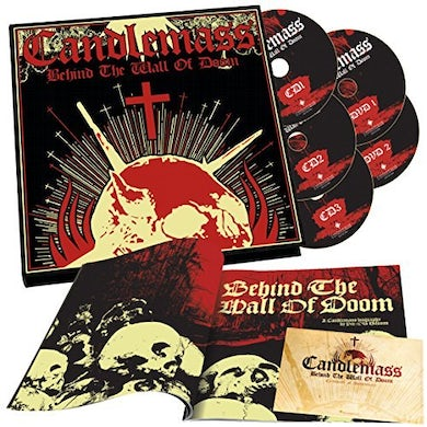 Candlemass BEHIND THE WALL OF DOOM CD