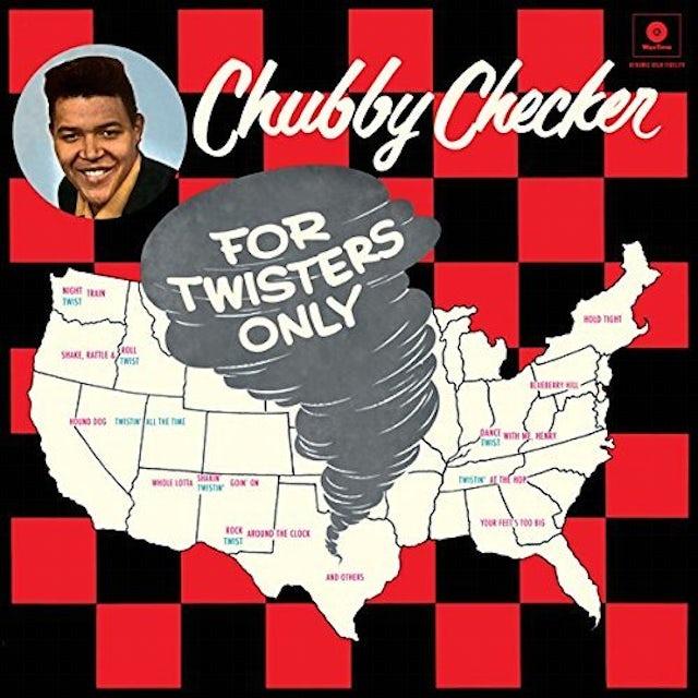 Chubby Checker FOR TWISTERS ONLY + 2 BONUS TRACKS Vinyl Record