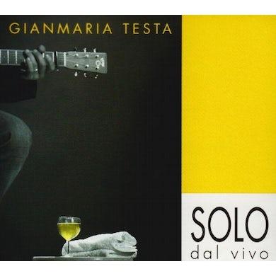 Gianmaria Testa SOLO DAL VIVO CD