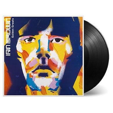 Ian Brown GOLDEN GREATS Vinyl Record - Gold Disc