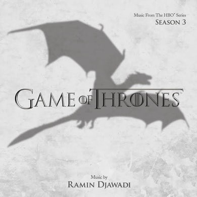 RAMIN DJAWADI GAME OF THRONES SERIES 3 / Original Soundtrack Vinyl Record