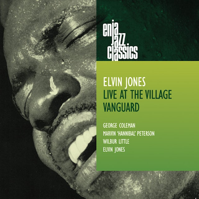 Elvin Jones LIVE AT THE VILLAGE VANGUARD CD