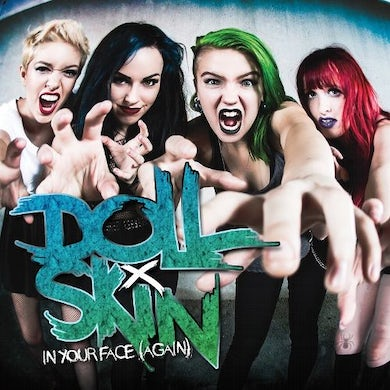 DOLL SKIN IN YOUR FACE (AGAIN) (RED VINYL) Vinyl Record