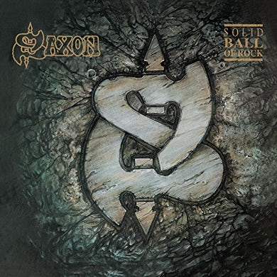 Saxon SOLID BALL OF ROCK Vinyl Record