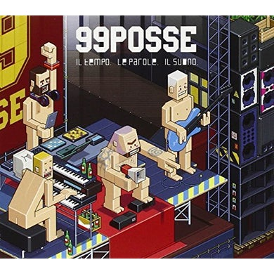 99 Posse IL TEMPO LE PAROLE IL SUONO CD