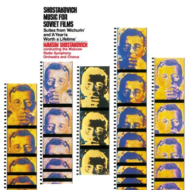 Dimitri Shostakovich MUSIC FOR SOVIET FILMS Vinyl Record