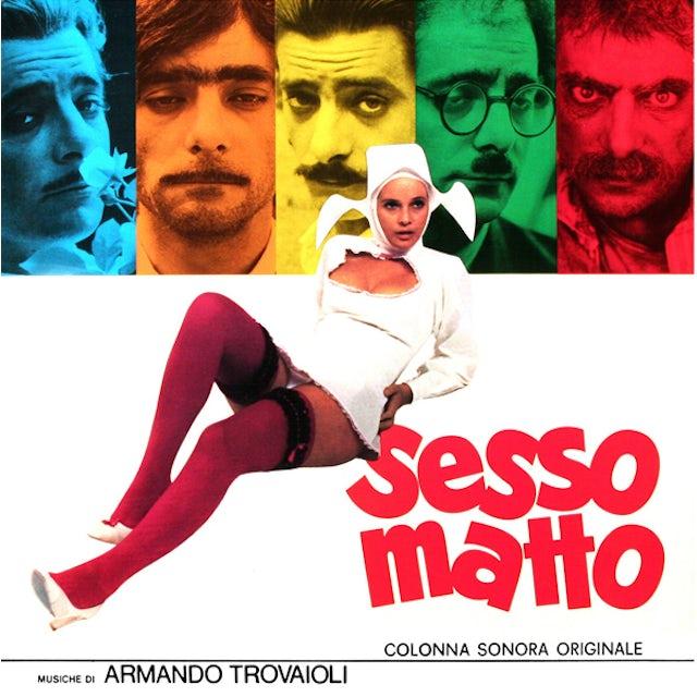 Armando Trovajoli SESSO MATTO Vinyl Record