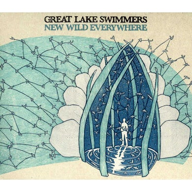 Great Lake Swimmers NEW WILD EVERYWHERE CD - UK Release