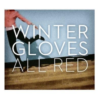 Winter Gloves ALL RED Vinyl Record
