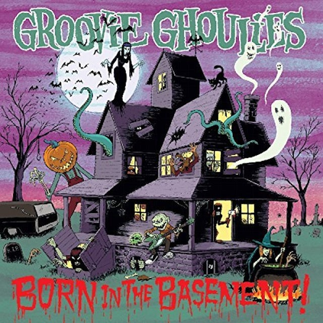 Groovie Ghoulies BORN IN THE BASEMENT Vinyl Record