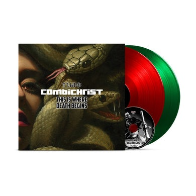 Combichrist THIS IS WHERE DEATH BEGINS Vinyl Record