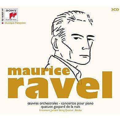 UN SIECEL DE DE MUSIQUE FRACAISE: MAURICE RAVEL CD