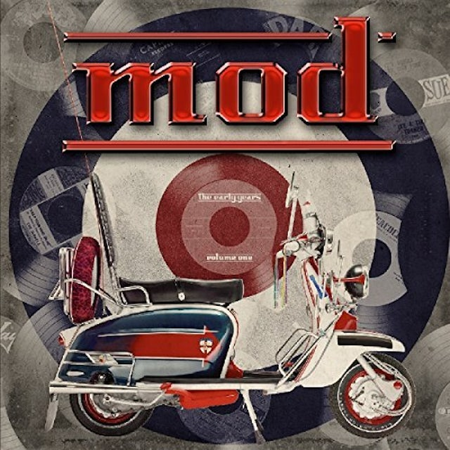 MOD THE EARLY YEARS / VARIOUS (BLUE) (COLV) (LTD) MOD THE EARLY YEARS / VARIOUS Vinyl Record