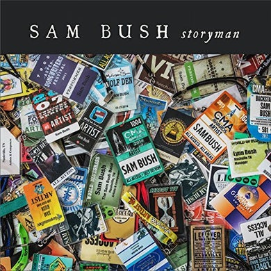 Sam Bush STORYMAN CD