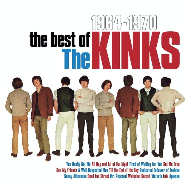 BEST OF THE KINKS 1964-1970 Vinyl Record