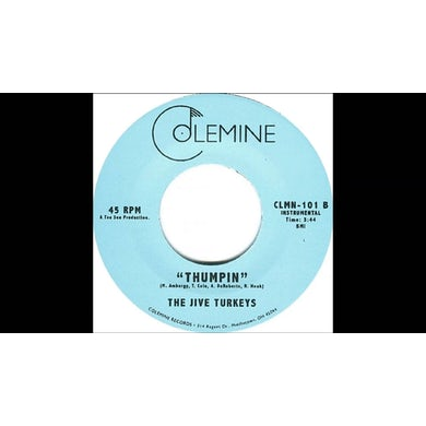 Jive Turkeys THUMPIN Vinyl Record