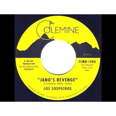 Los Sospechos JANO'S REVENGE Vinyl Record