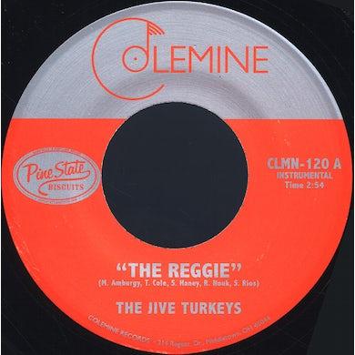Jive Turkeys REGGIE / DUCK'S DIRGE Vinyl Record