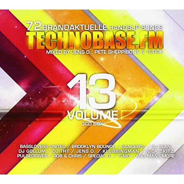 Various Artists TECHNOBASE.FM VOL 13 CD