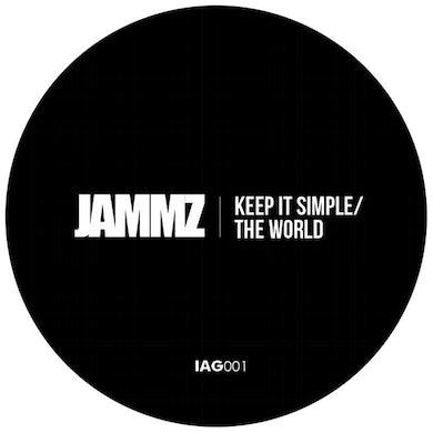 Jammz KEEP IT SIMPL / THE WORLD Vinyl Record