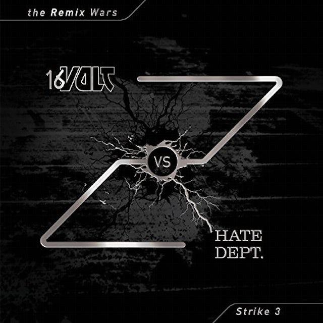 16 VOLT VS HATE DEPT REMIX WARS 3 Vinyl Record