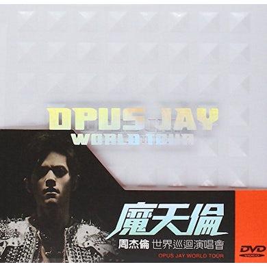 Jay Chou OPUS JAY WORLD TOUR DVD