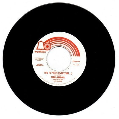 Gerri Granger I GO TO PIECES / I CAN'T TAKE IT LIKE A MAN Vinyl Record