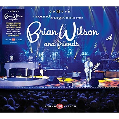 Brian Wilson FRIENDS (CD+DVD PAL/REGION 2) CD