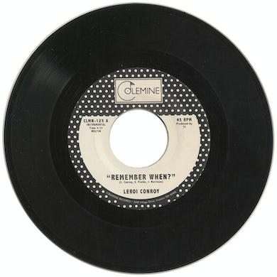 REMEMBER WHEN Vinyl Record