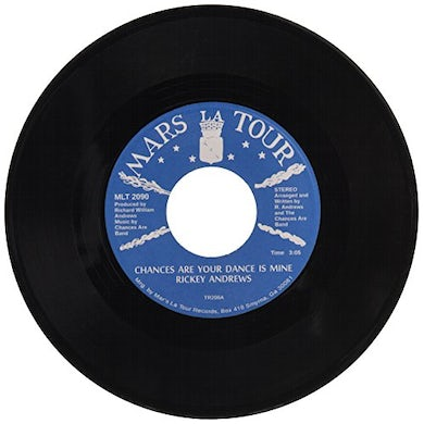 Rickey Andrews CHANCES ARE YOUR DANCE IS MINE Vinyl Record