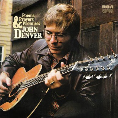 John Denver POEMS PRAYERS & PROMISES Vinyl Record