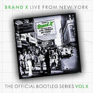 Brand X LIVE IN ROCHESTER 1977 CD