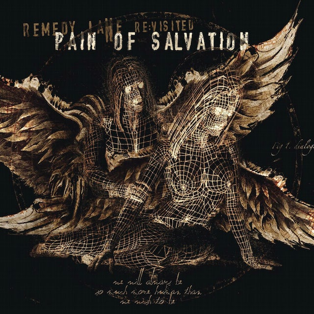 PAIN OF SALVATION REMEDY LANE RE:VISITED (RE:MIXED & RE:LIVED) CD