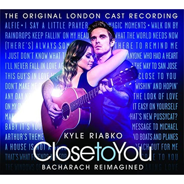 Kyle Riabko CLOSE TO YOU: BACHARACH REIMAGINED CD