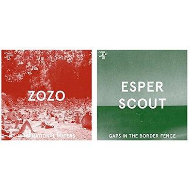 ZOZO / ESPER SCOUT INTERNATIONAL WATERS / GAPS IN THE BORDER FENCE Vinyl Record
