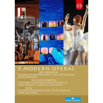 SALZBURG FESTIVAL 3 MODERN OPERAS DVD