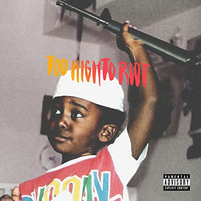 Bas TOO HIGH TO RIOT Vinyl Record