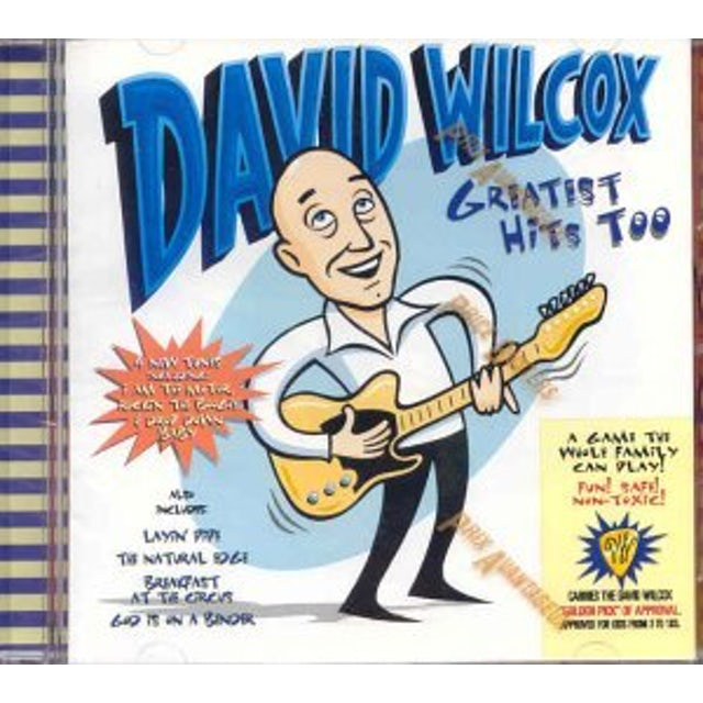 David Wilcox GREATEST HITS TOO CD