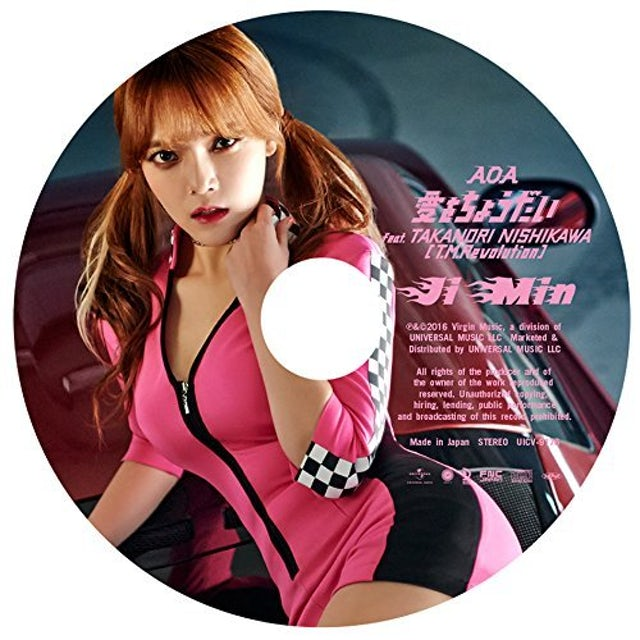 AOA AI WO CHOUDAI: JIMIN EDITION CD